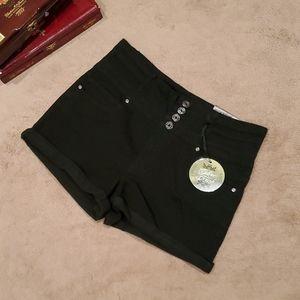 SILVER CRUSH women's high waist shorts size 13/31